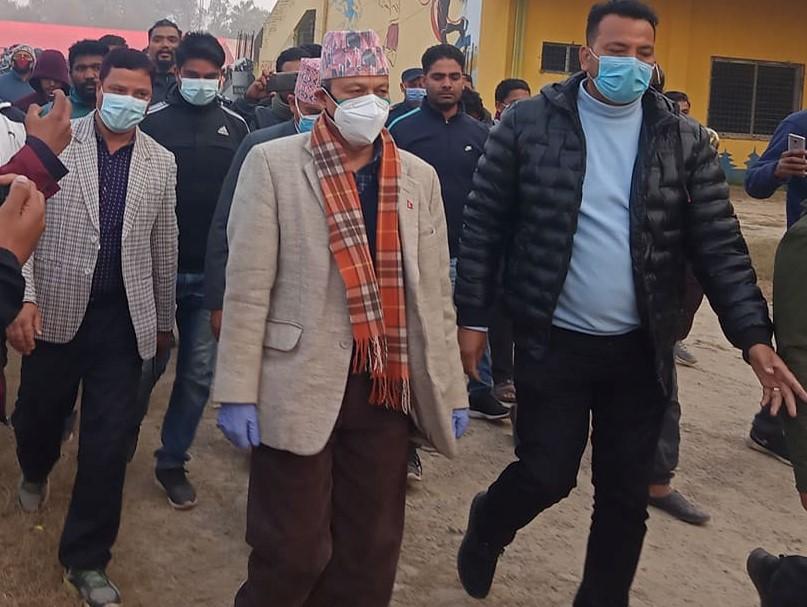 प्रधानपन्त्री ओली नेपाली जनता माथि विश्वासघात गरे ,नेता भिम रावल