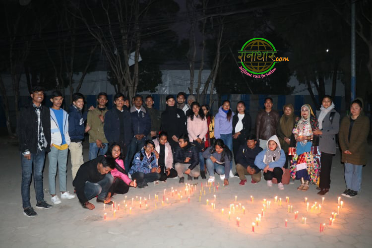 काठमाडौंमा पनि मनाए रानाथारु समुदायले दिपावाली