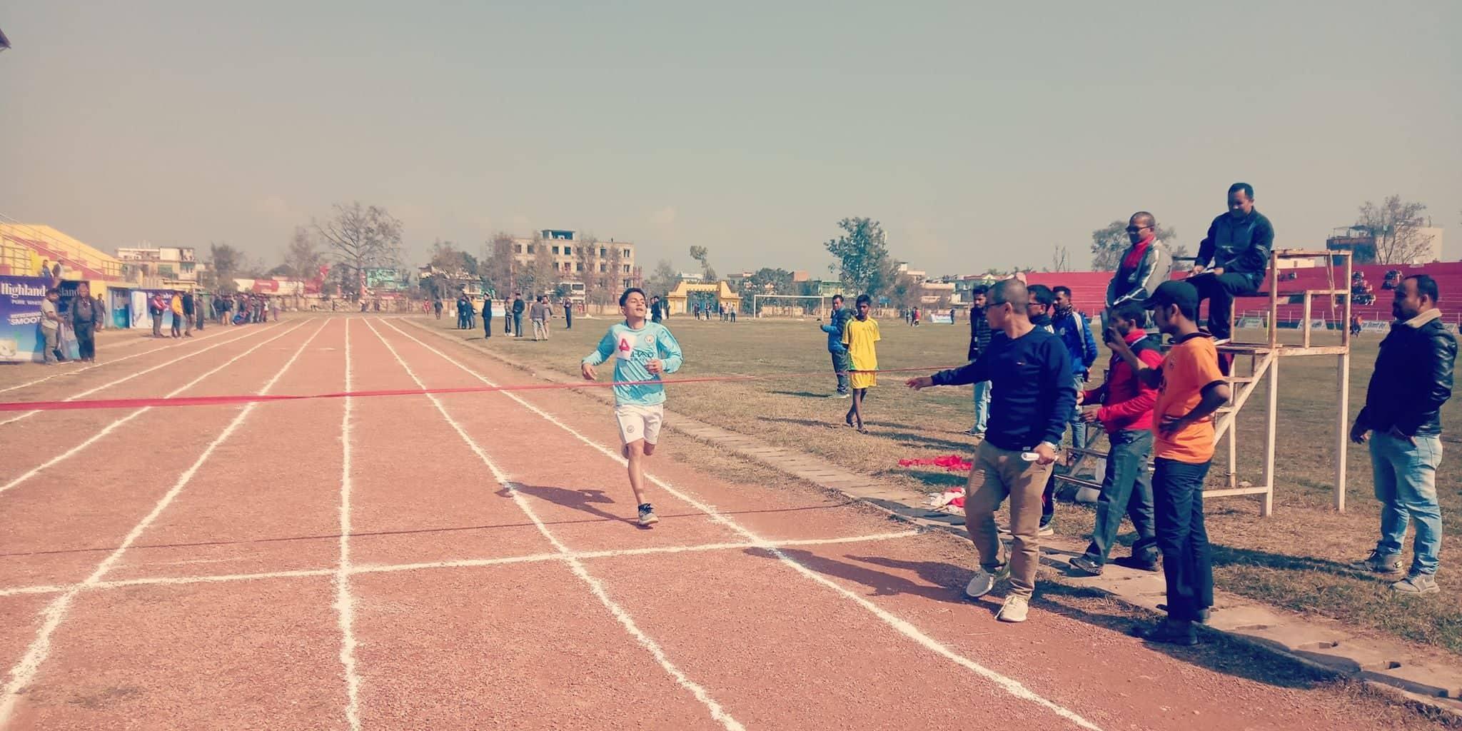 धनगढी नगर स्तरीय राष्ट्रपति रनिङ्ग सिल्डः एथलेटिक्सका अधिकांश विधा सकिए, कवडड्डीको फाईनल वाँकी