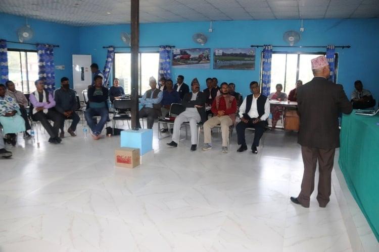 धनगढी उप–महानगरद्धारा संस्थागत स्वःमुल्याङ्कन कार्यको आयोजना