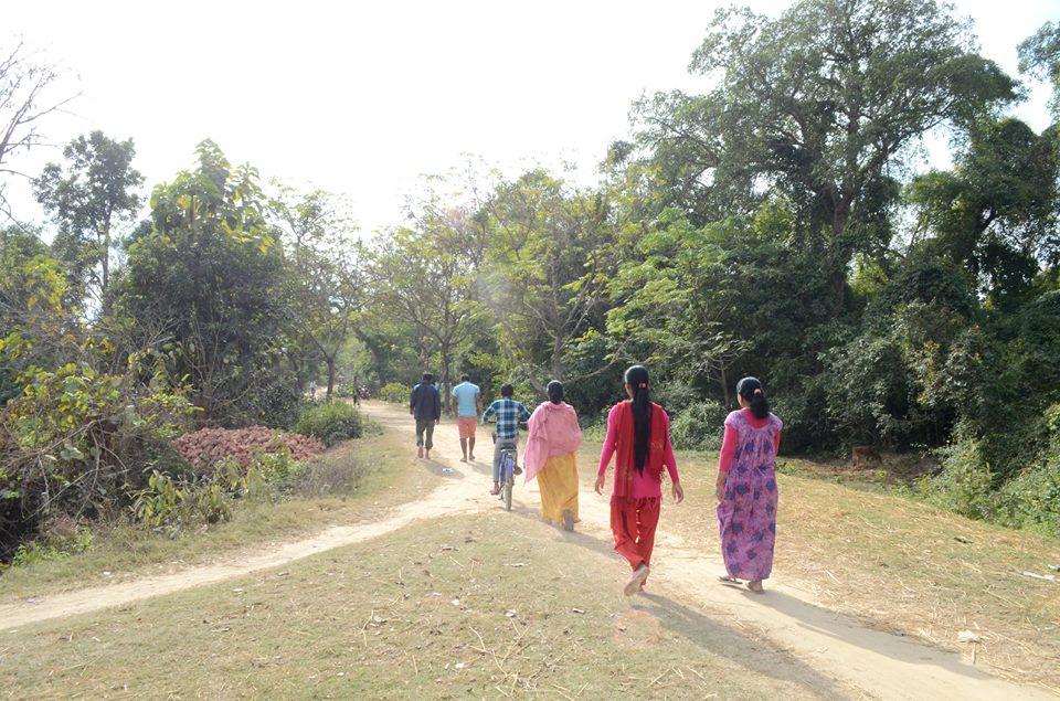 कैलालीक ,कैलारी गाउँ पालिका भारतसे जुडे सिमानाका बन्द