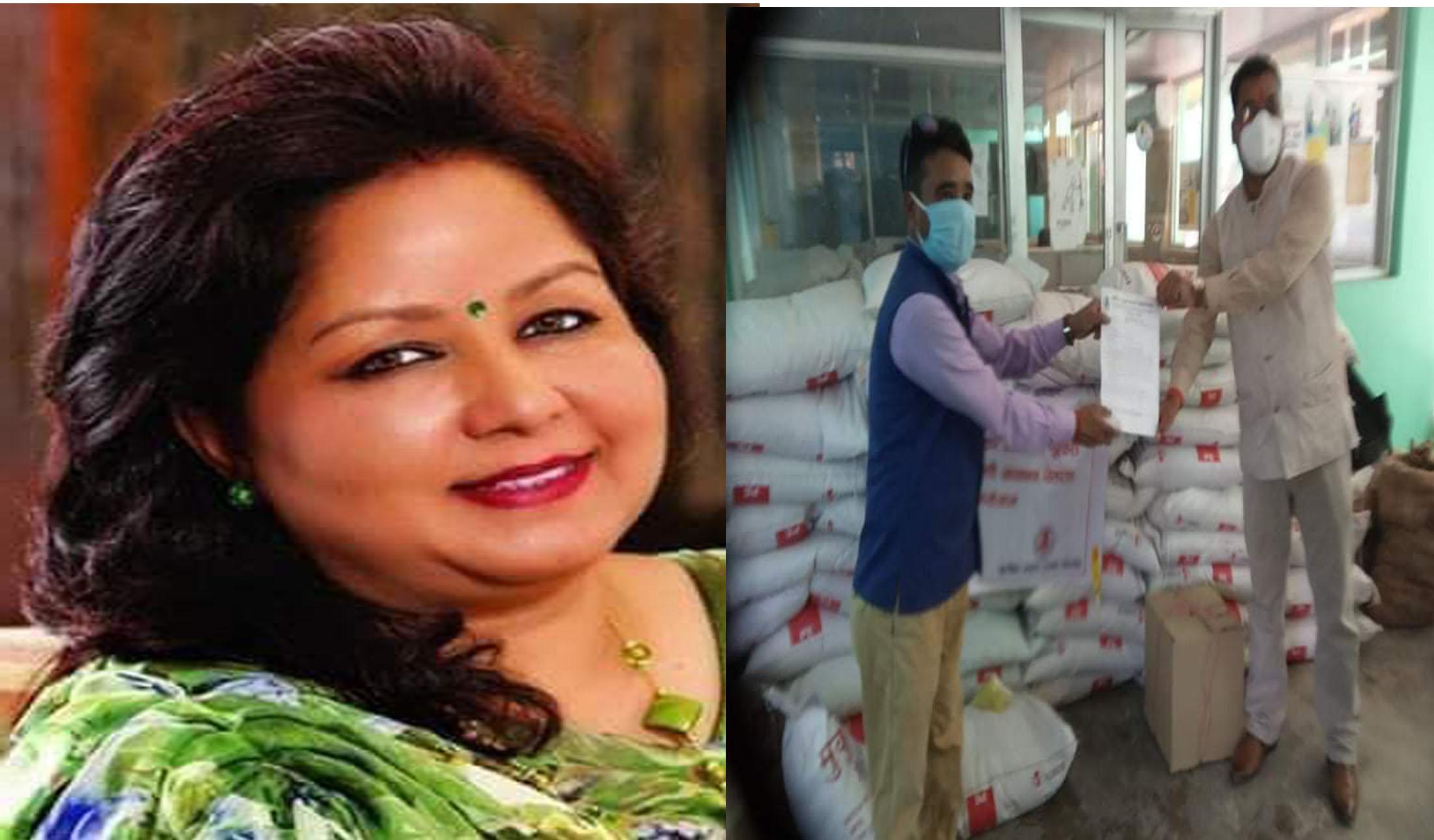 सुरक्षित मातृत्व संजाल महासंघ नेपालद्धारा बिपन्न गर्भवती तथा सुत्केरी महिलालाई खाद्य तथा पोषण सामाग्री हस्तान्तरण