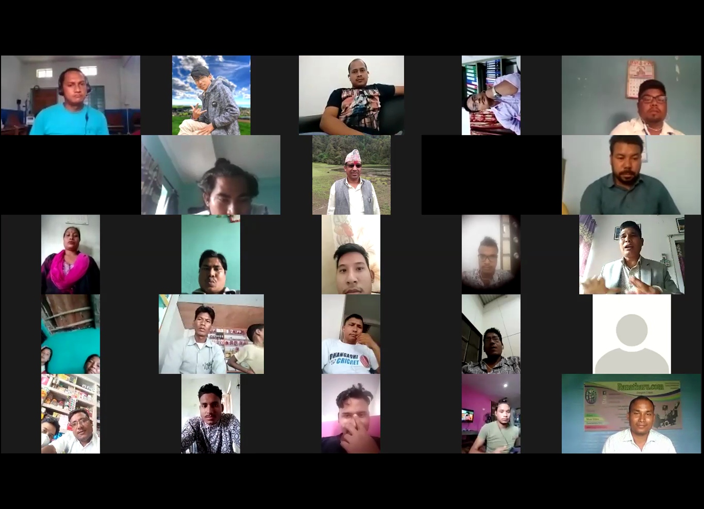 रानाथारु डटकम, जुम कन्फ्रेन्स द्वारा संचालित जागरण कार्यक्रम भव्यताके साथ निभटो