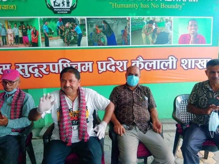 फाया नेपालले सहयोग सहित मानवसेवा आश्रममा मनायो सामाजिक सेवा दिवस ।