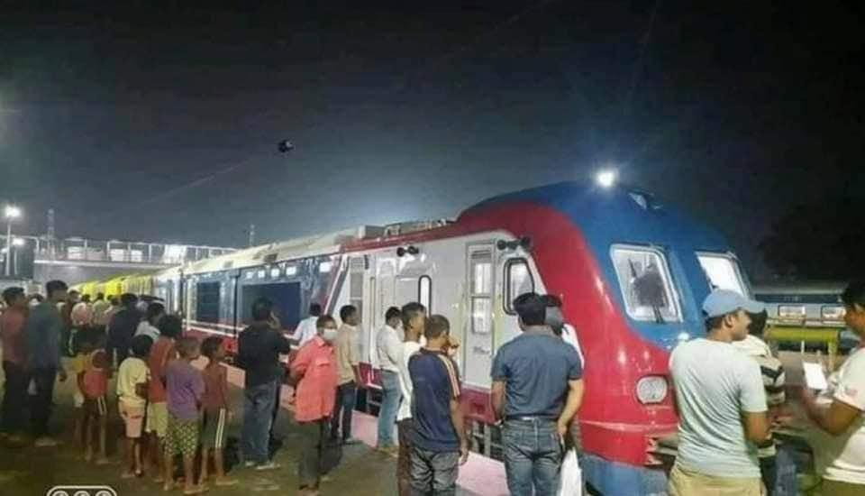 जयनगर-जनकपु्र चल्ने ट्रेन सेट शुक्रबार जनकपुर आइपुग्ने , दसैंअघि संचालन हुने