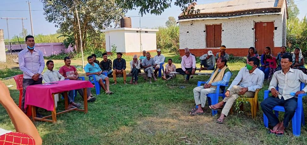 दोदा नदि टतबन्धका लागि संघर्ष समिति गठन्