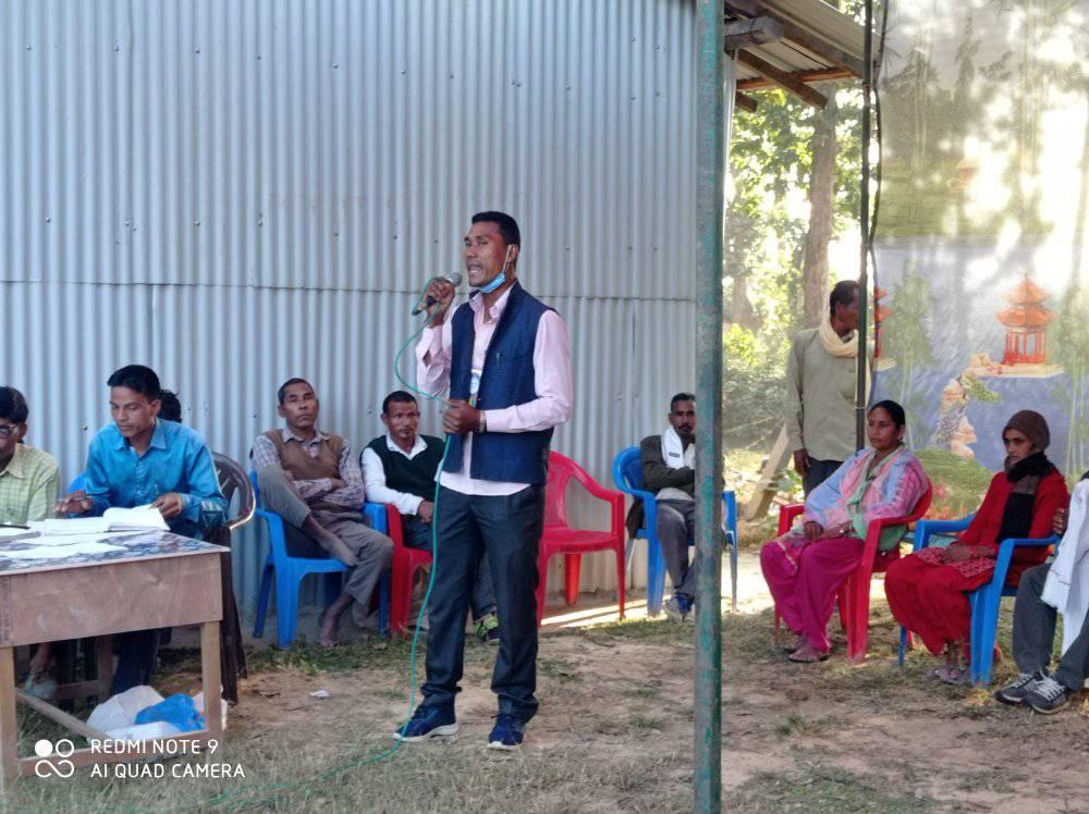 नवदुर्गा सामुदायिक वन उपभोक्ता समुहक सातौँ सधारण सभा निभटो
