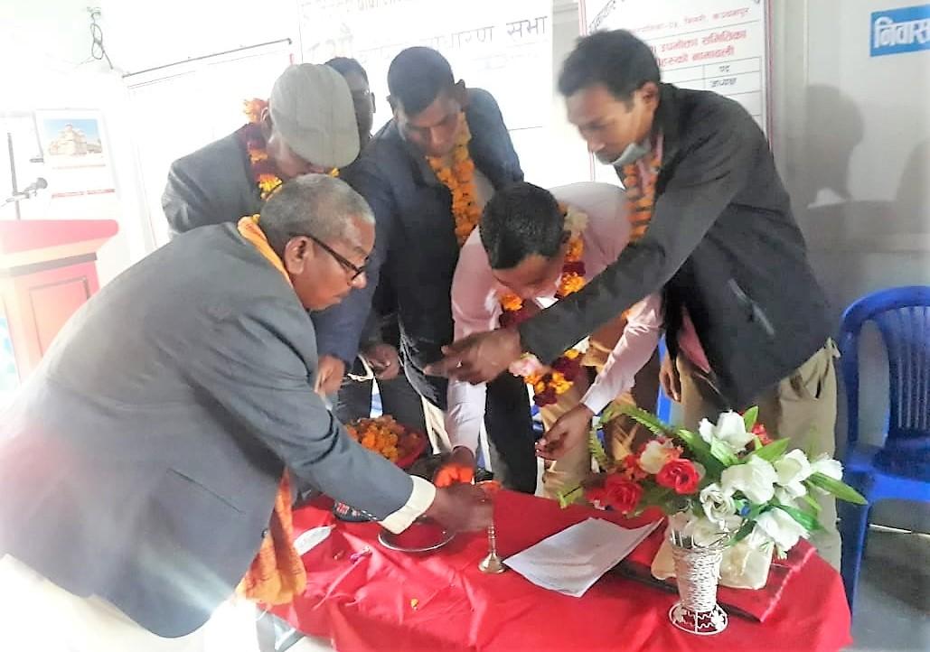 भिमसेन बाबा मन्दिर धार्मिक सेवा समितिको ८औ साधारण सभा निभटो