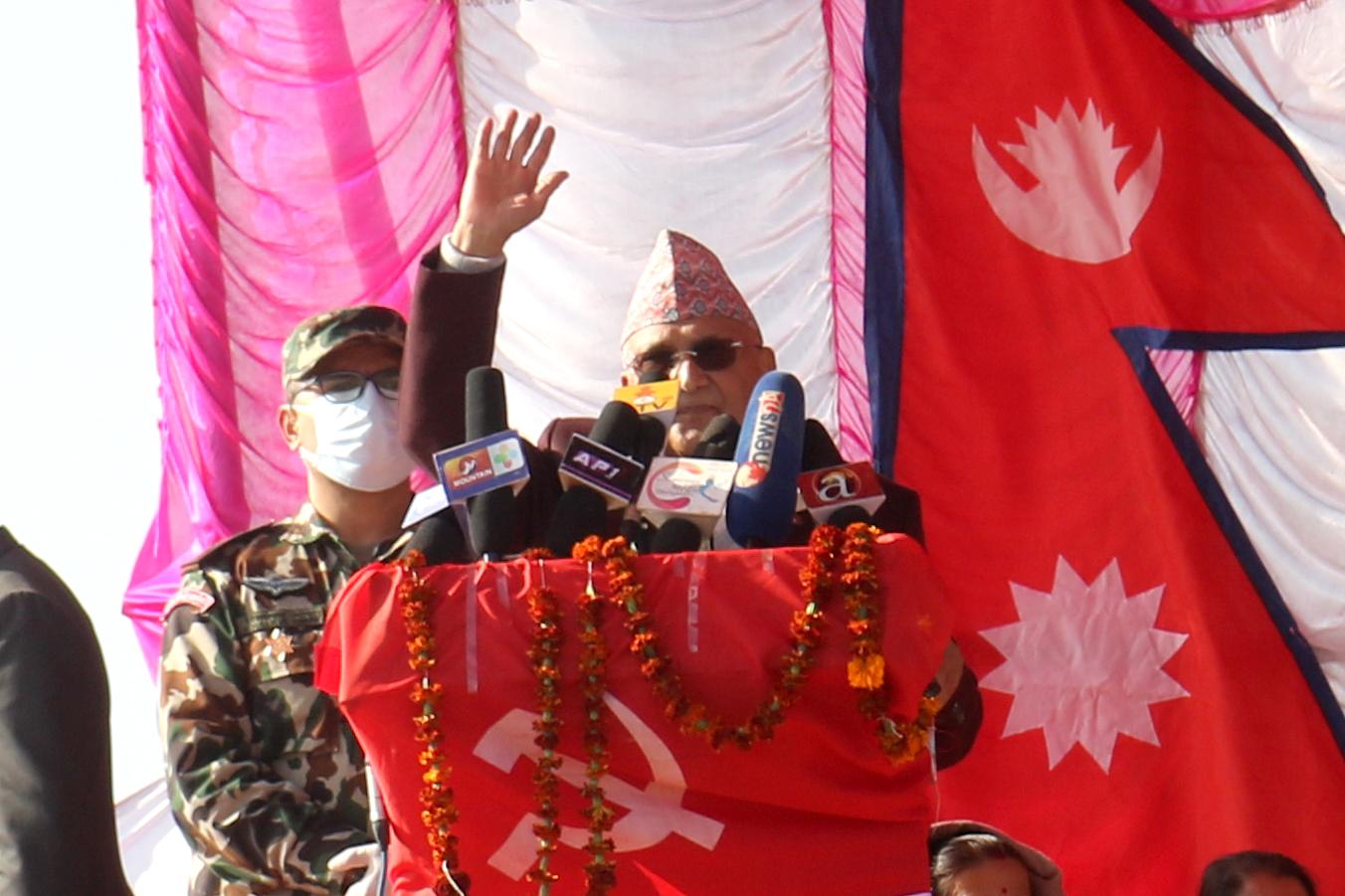नेकपा आफ्ना नातेदारको पार्टी होइनः प्रधानमन्त्री ओली