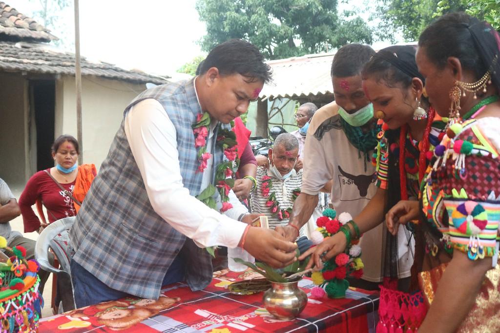 कञ्चनपुर -३ मा तिज मिलन कार्यक्रम सम्पन्न फोटोफिक्चर सहित