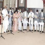 नवनियुक्त मन्त्री र राज्यमन्त्रीले लिए शपथ